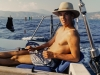 Yaniv at the helm - Greece, 1996