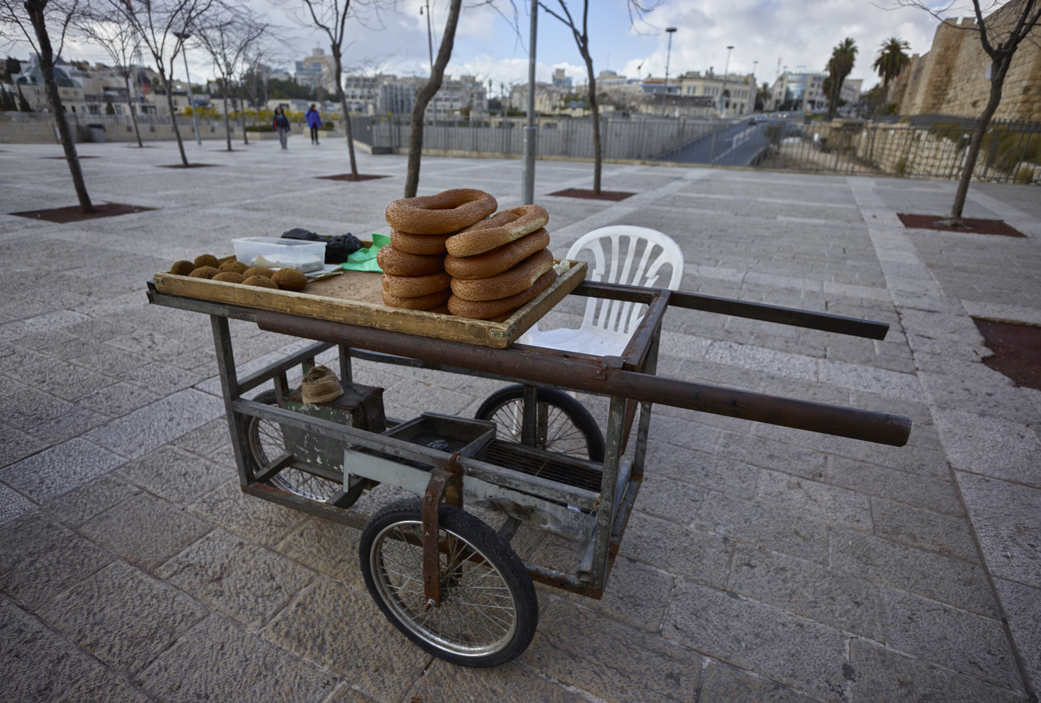 Bagels - Jerusalem, January 2016
