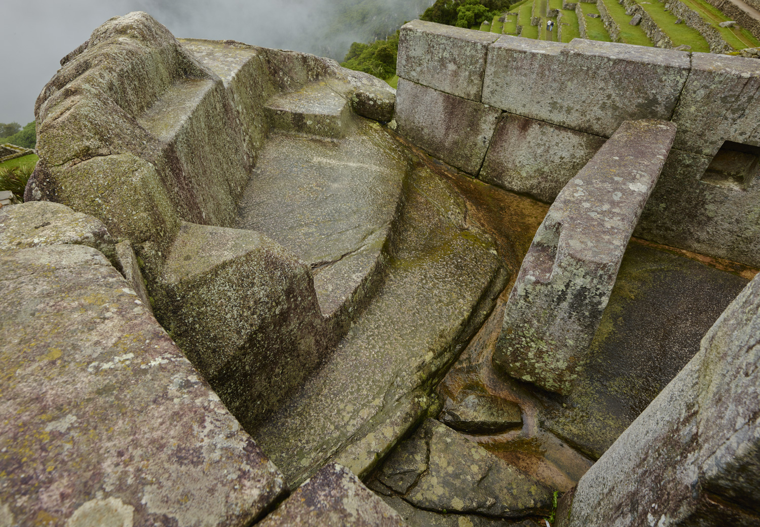 Liturgical Fountain - Machu Picchu, February 2016