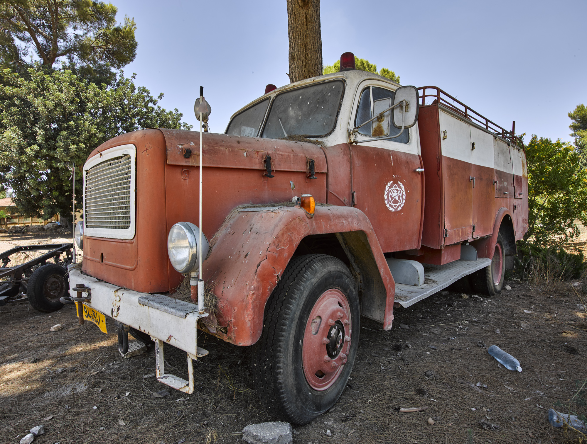 Fire Truck - Bet Govrin, August 2016
