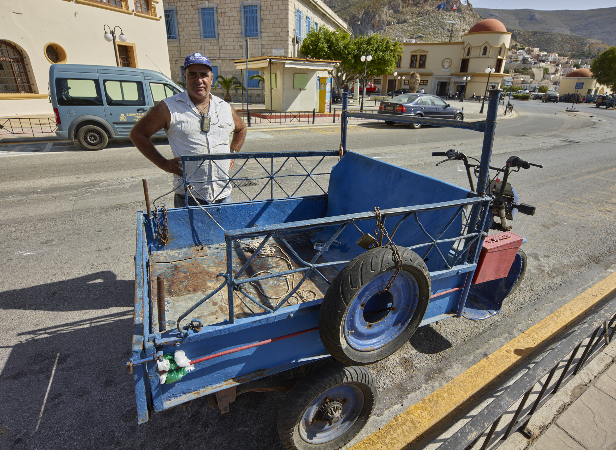 Transporters - Kalymnos, May 2017