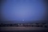Moonrise over the Golan Heights - Camp at Bet Hillel, 1985
