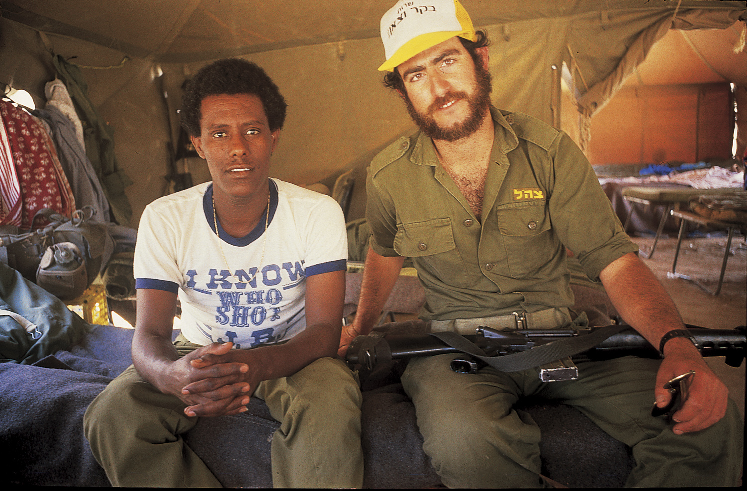 Reuven and Kirsh - Gaza, 1988