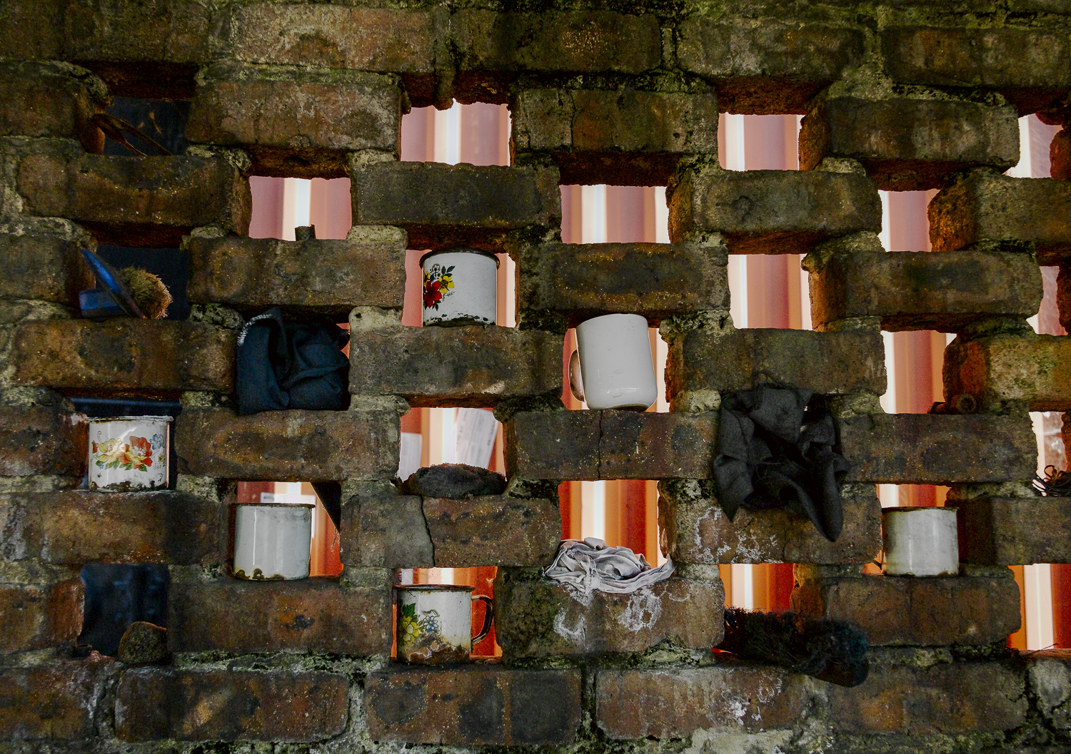 Enamel cups - Newcastle, South Africa, 2006