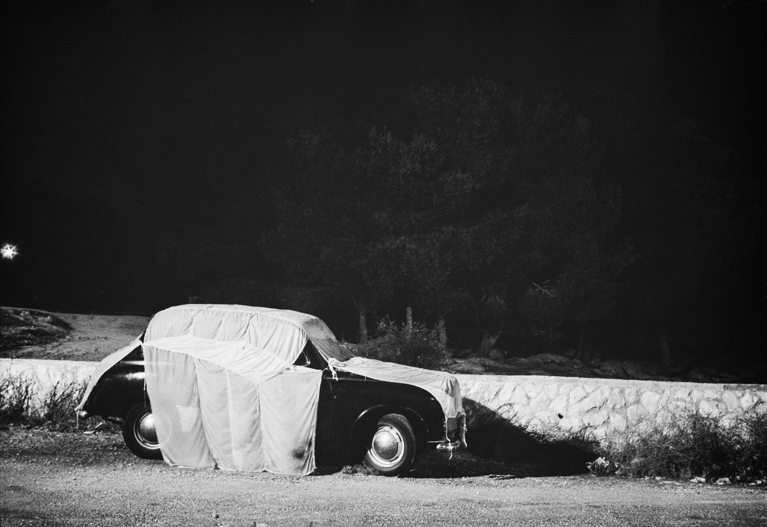 Covered car, Jerusalem - 1978