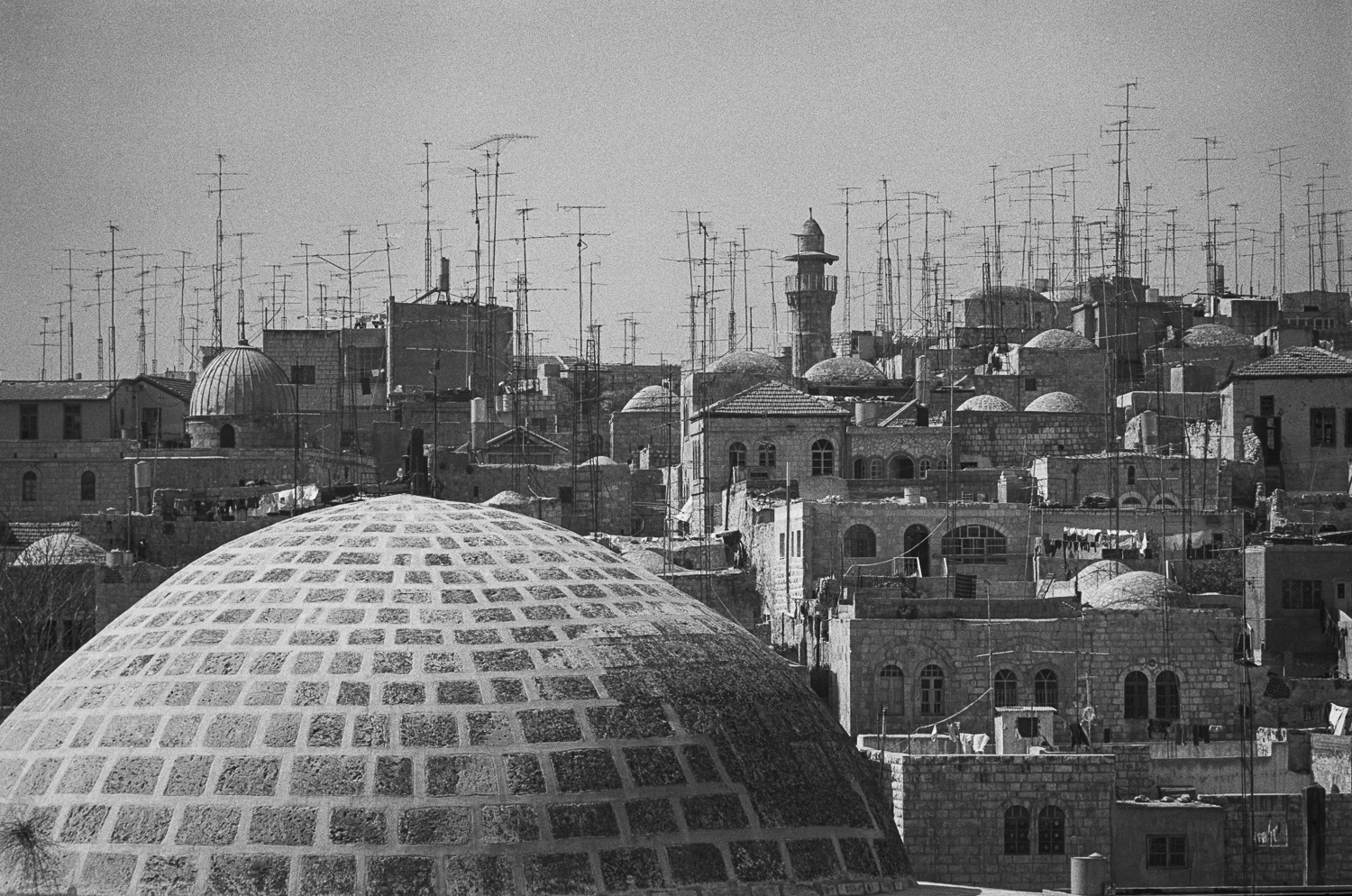 Cityscape, Old City, Jerusalem - 1979