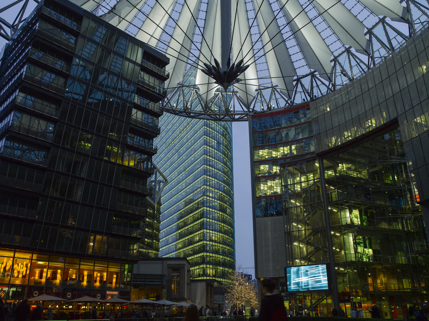 Sony Center - Berlin, 2008