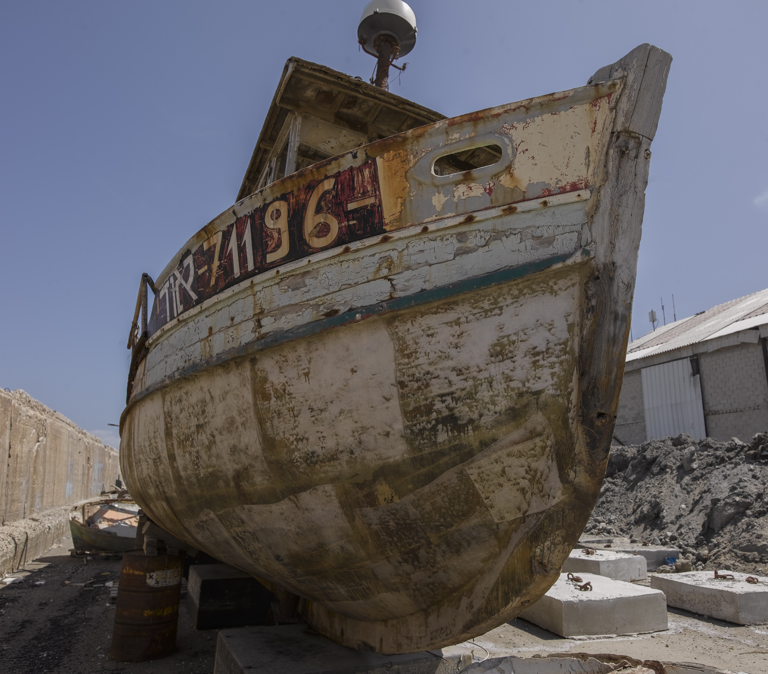 Old boat - Jaffa, 2008