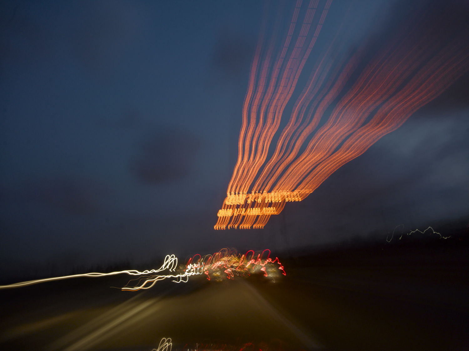 Highway Lights - Zichron Yaacov, 2008