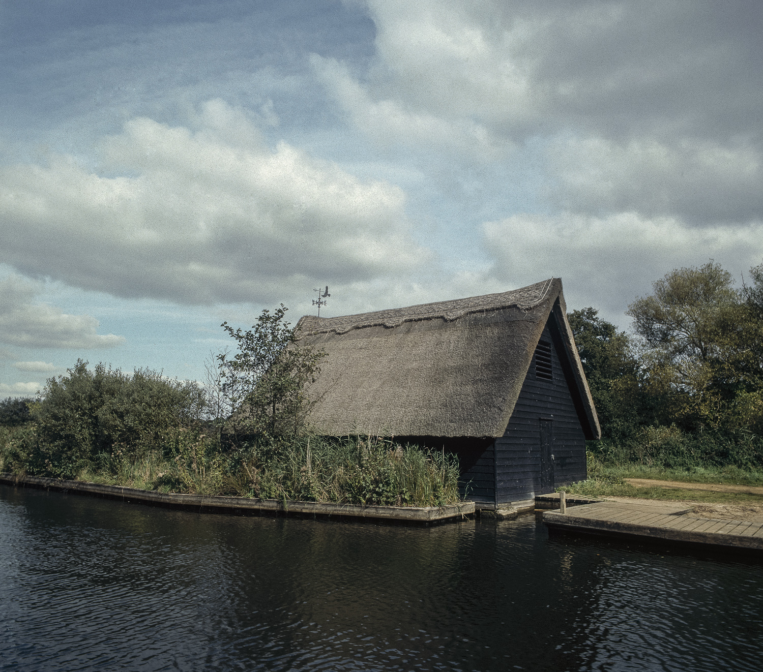 Thatched house - Norfolk Broads, 1998