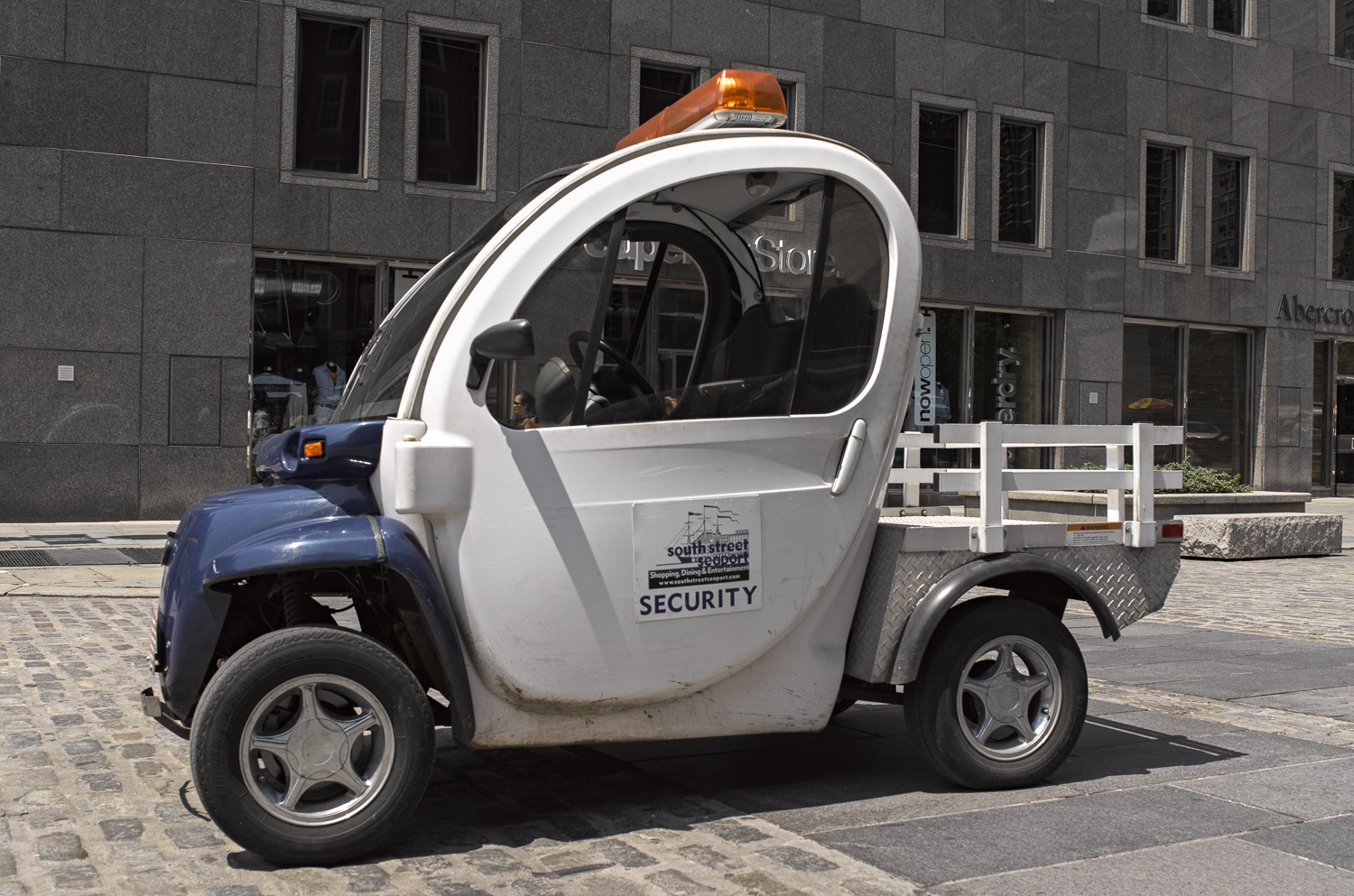 Security vehicle, New York, 2011
