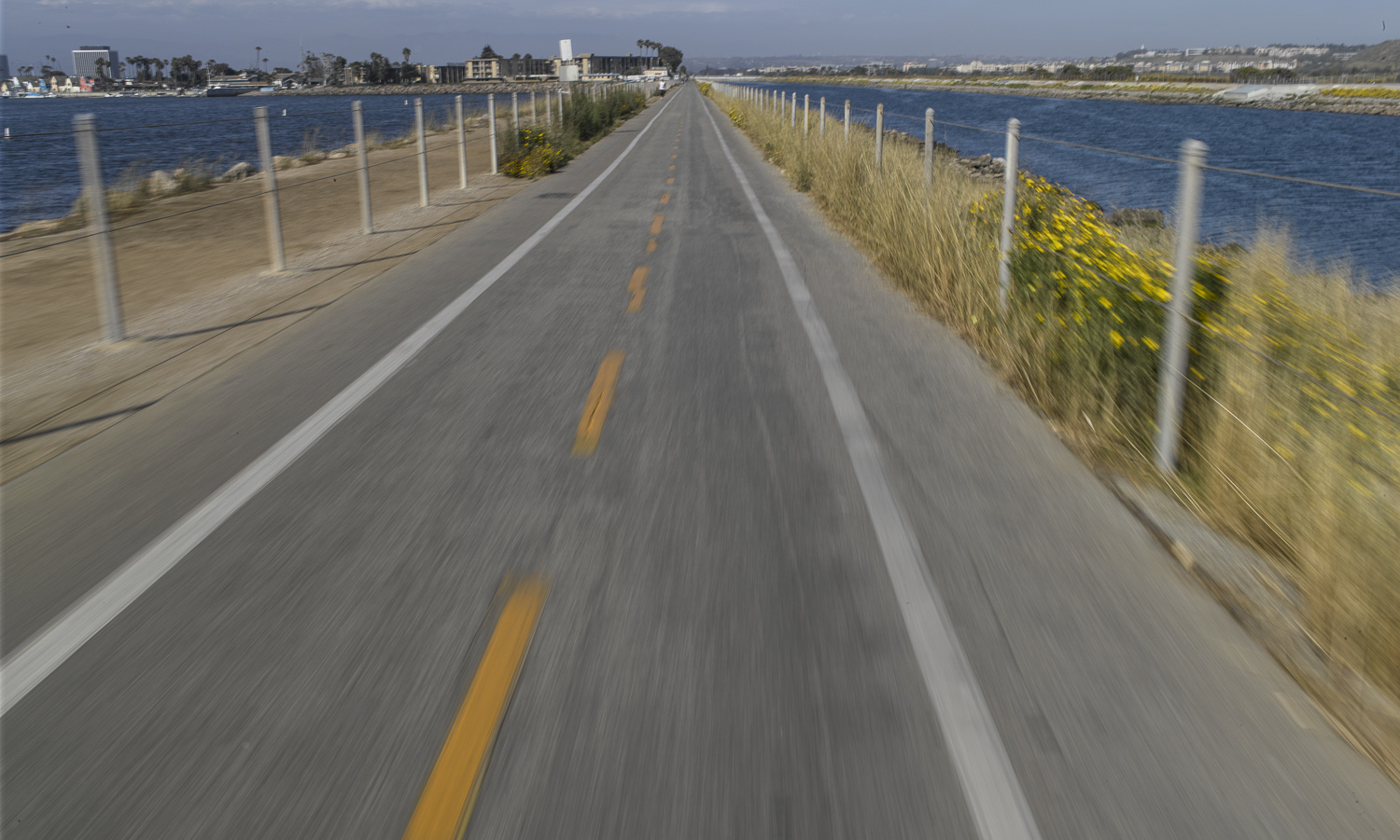 Ballona Creek bike path, Los Angeles - 2010