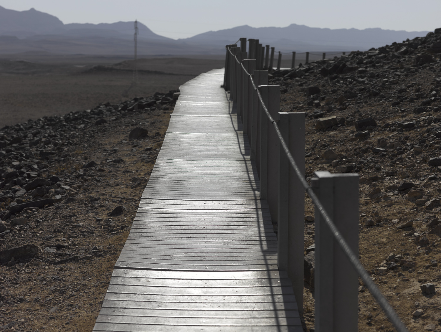 Pathway - Ramon Crater, 2010
