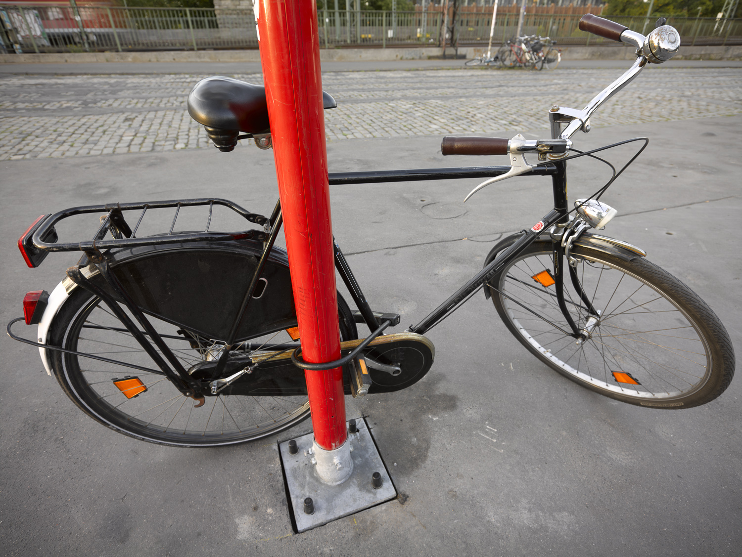 Bicycle and post - Cologne, 2012