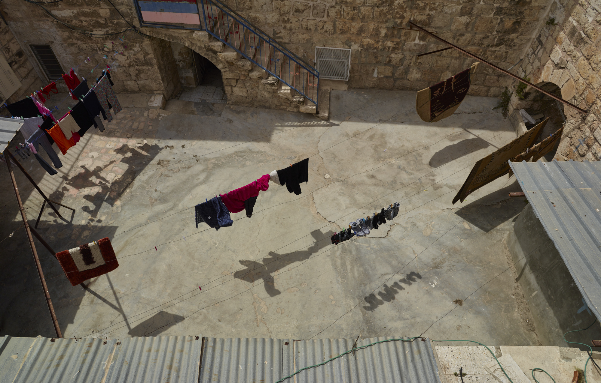 Washing line - Jerusalem, April 2017