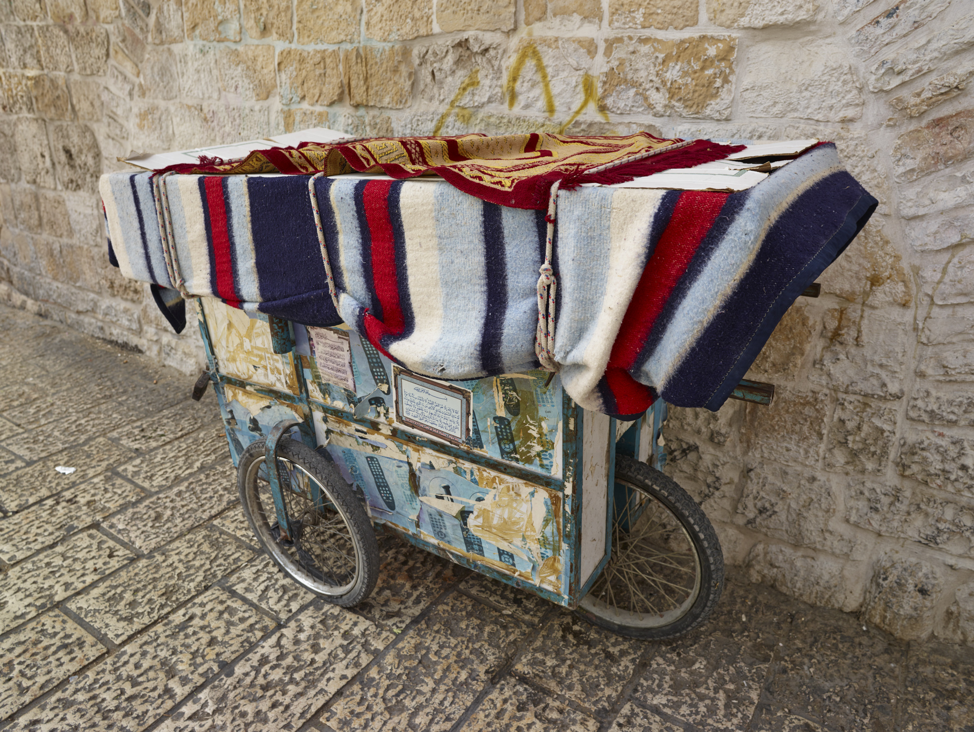 Cart - Jerusalem, April 2017