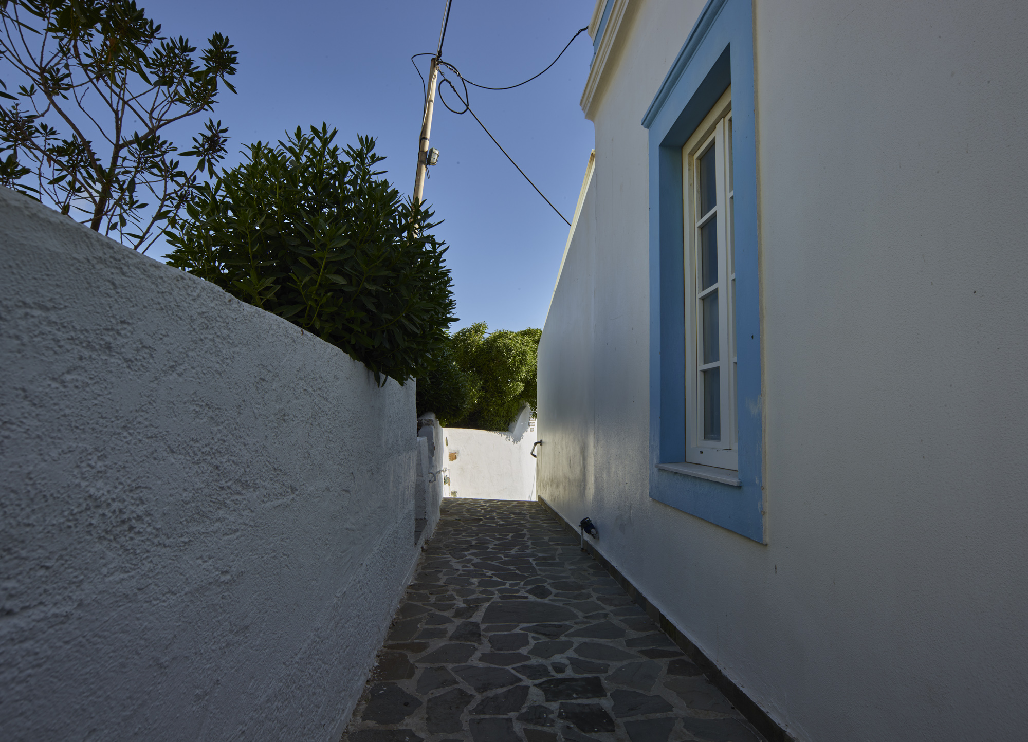 Alley - Agia Marina, Leros, May 2017