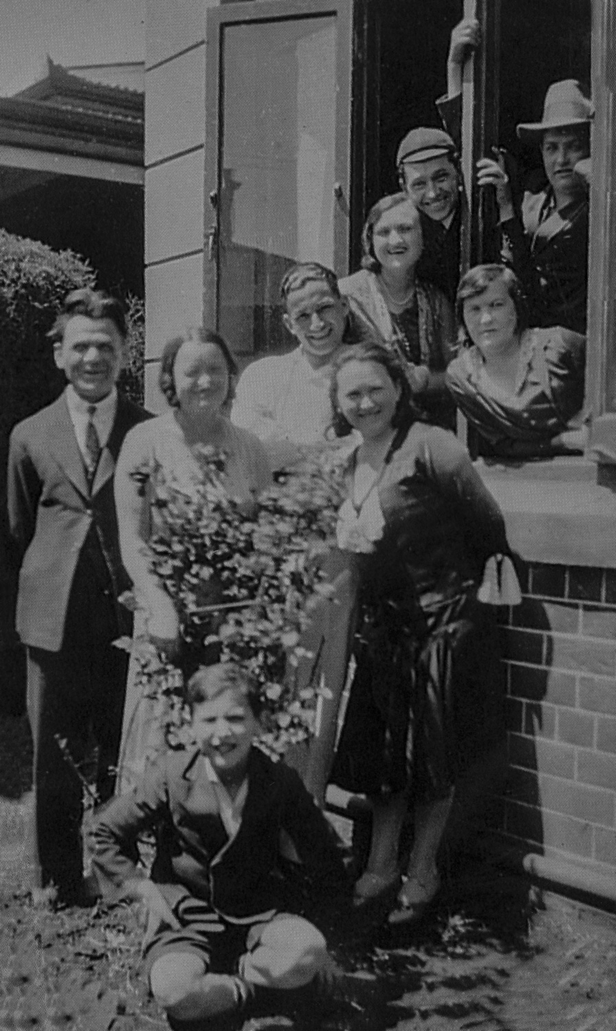 Goldsmith Family - Johannesburg, circa 1935