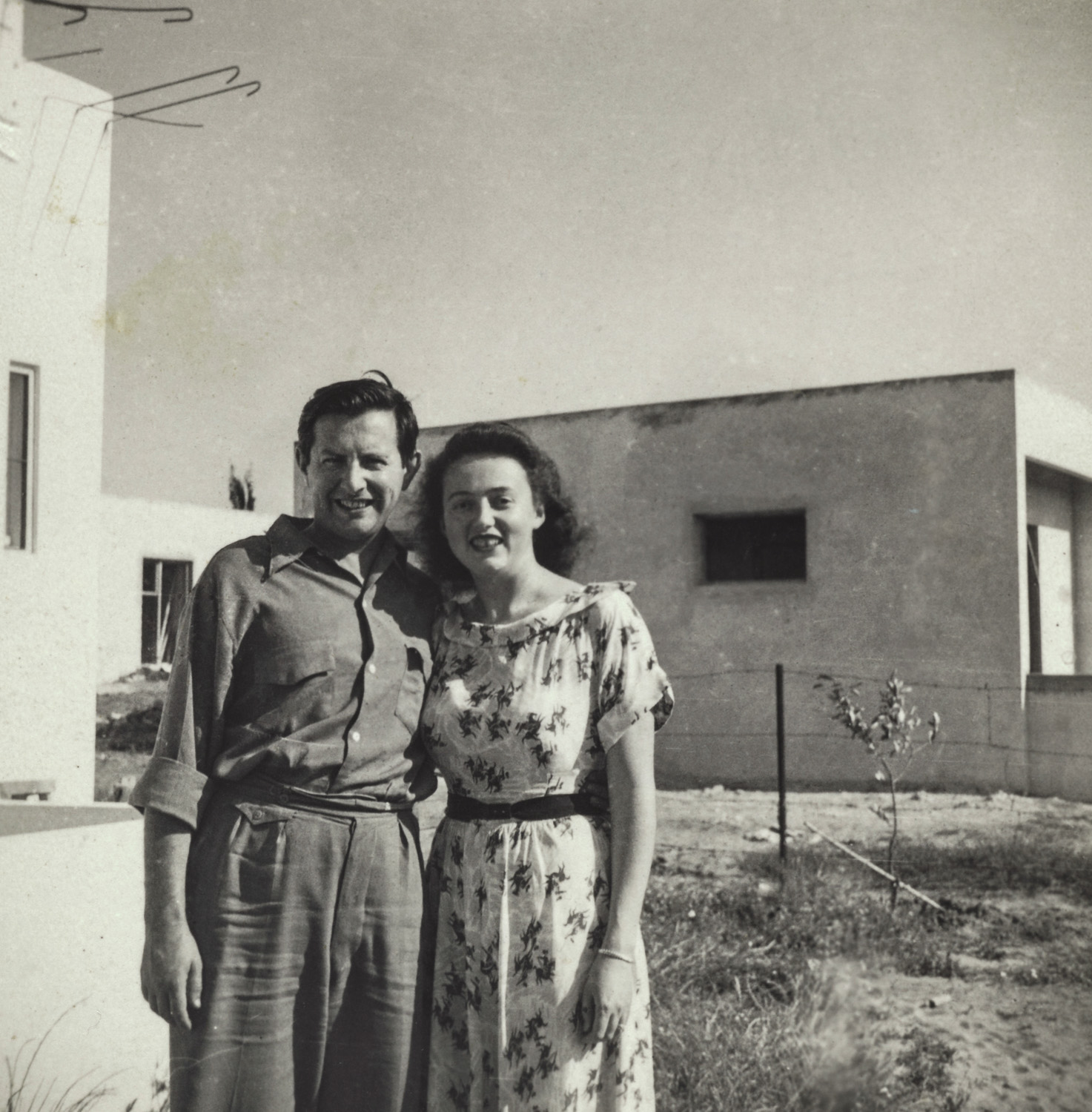 Lily and Chaim - Israel, 1950