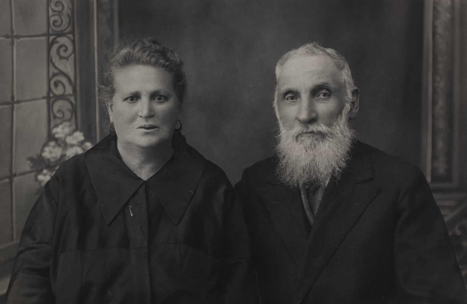 Grunya and Zoruch Kagan - Keidan, 1929