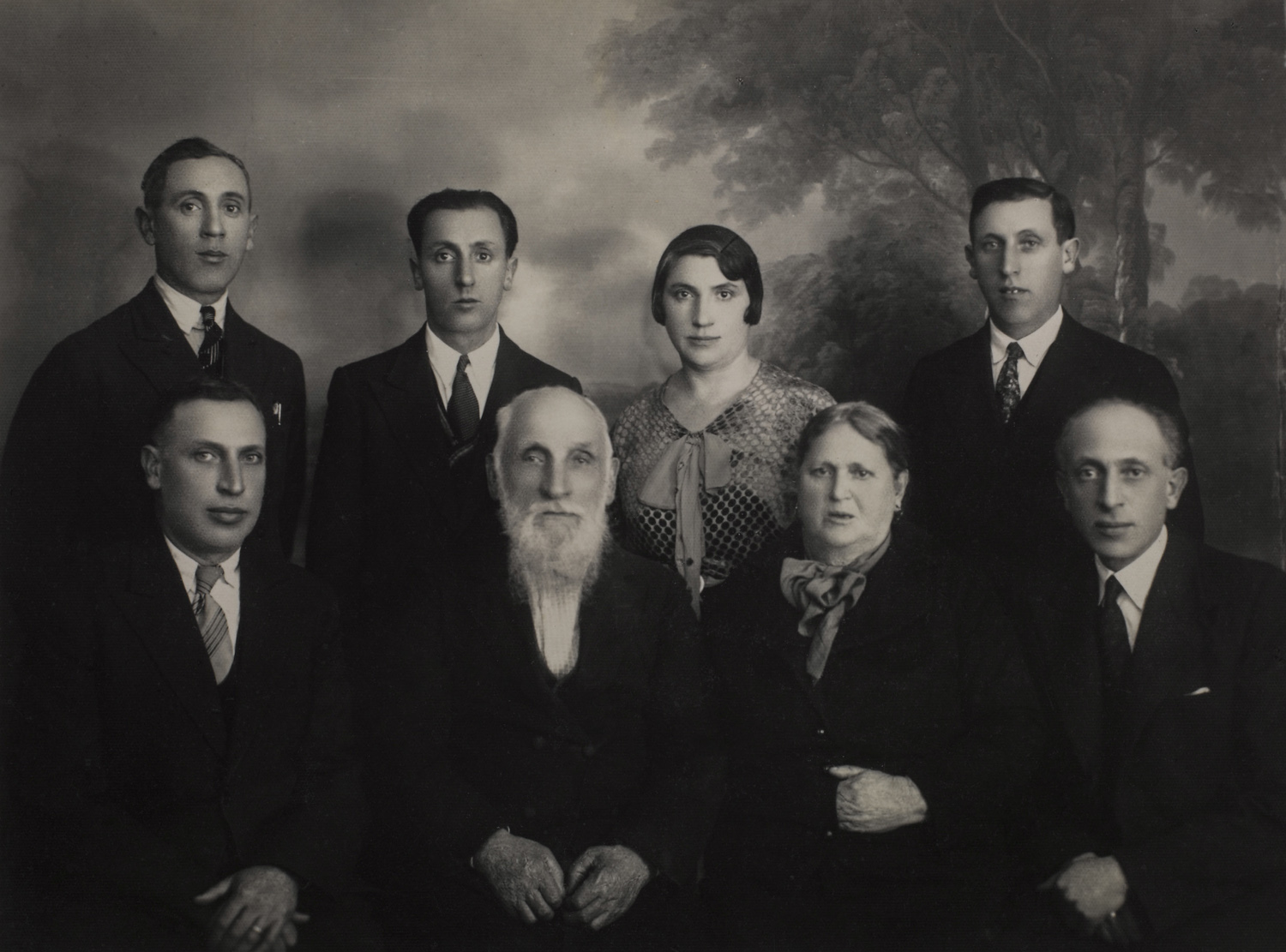 The Kagan family - Keidan, circa 1925