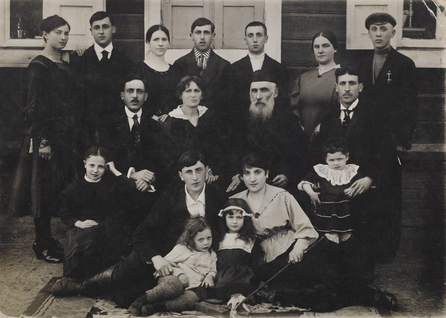 Family - Keidan, Lithuania, circa 1920
