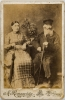 My great great grandparents on my mother's side. Yente and Shmuel-Itzik Kagan - Wilkomir, circa 1880