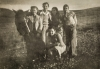 Chaim and friends - Israel, circa 1947