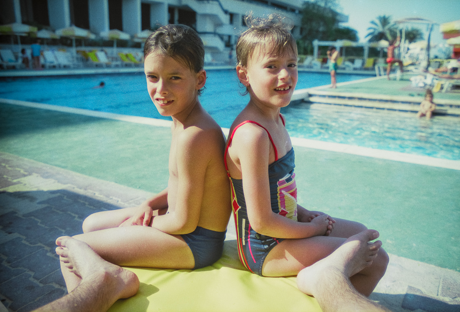 Yaniv and Liad - Dead Sea - 1988
