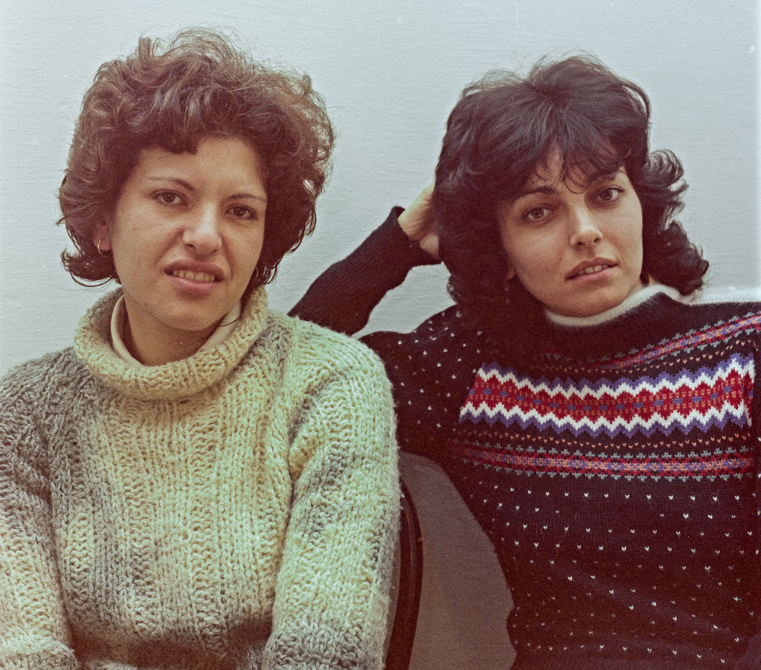 Fanny and Sarita - Gilo, 1983