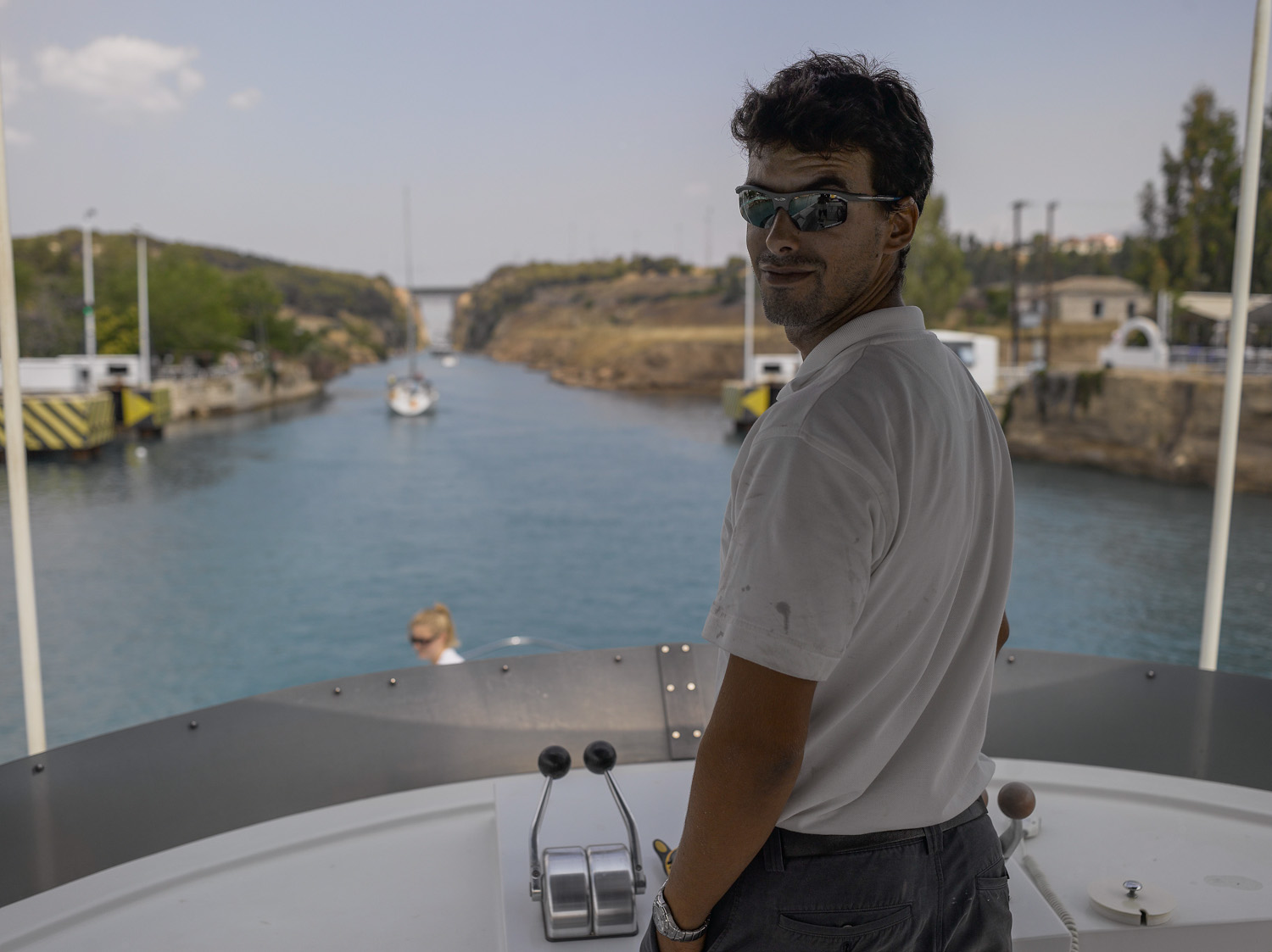 Yaniv - Corinth Canal, Greece, 2008