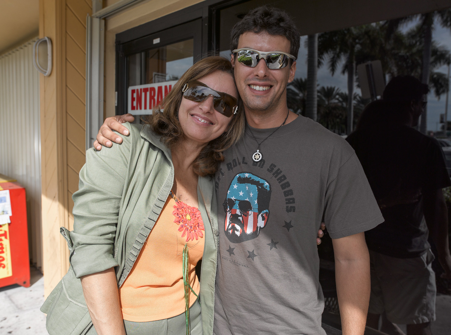 Yaniv and Sara - Aventura, Florida, 2007