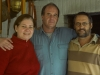 Perla, Armando and Leon - Montevideo, 2008