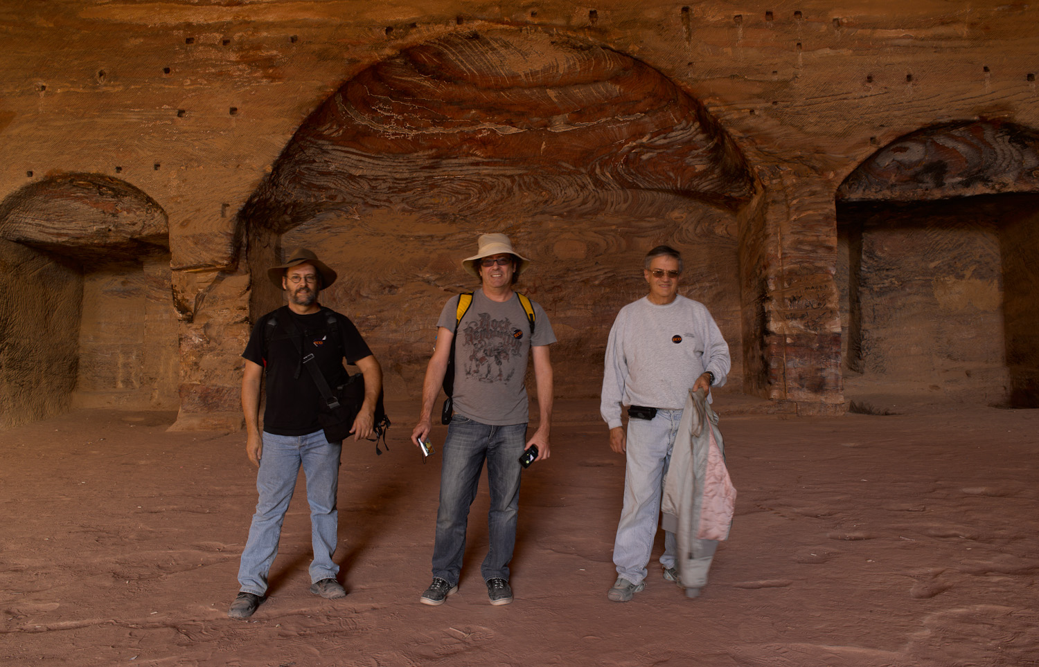 Three of four brothers - Petra, 2011
