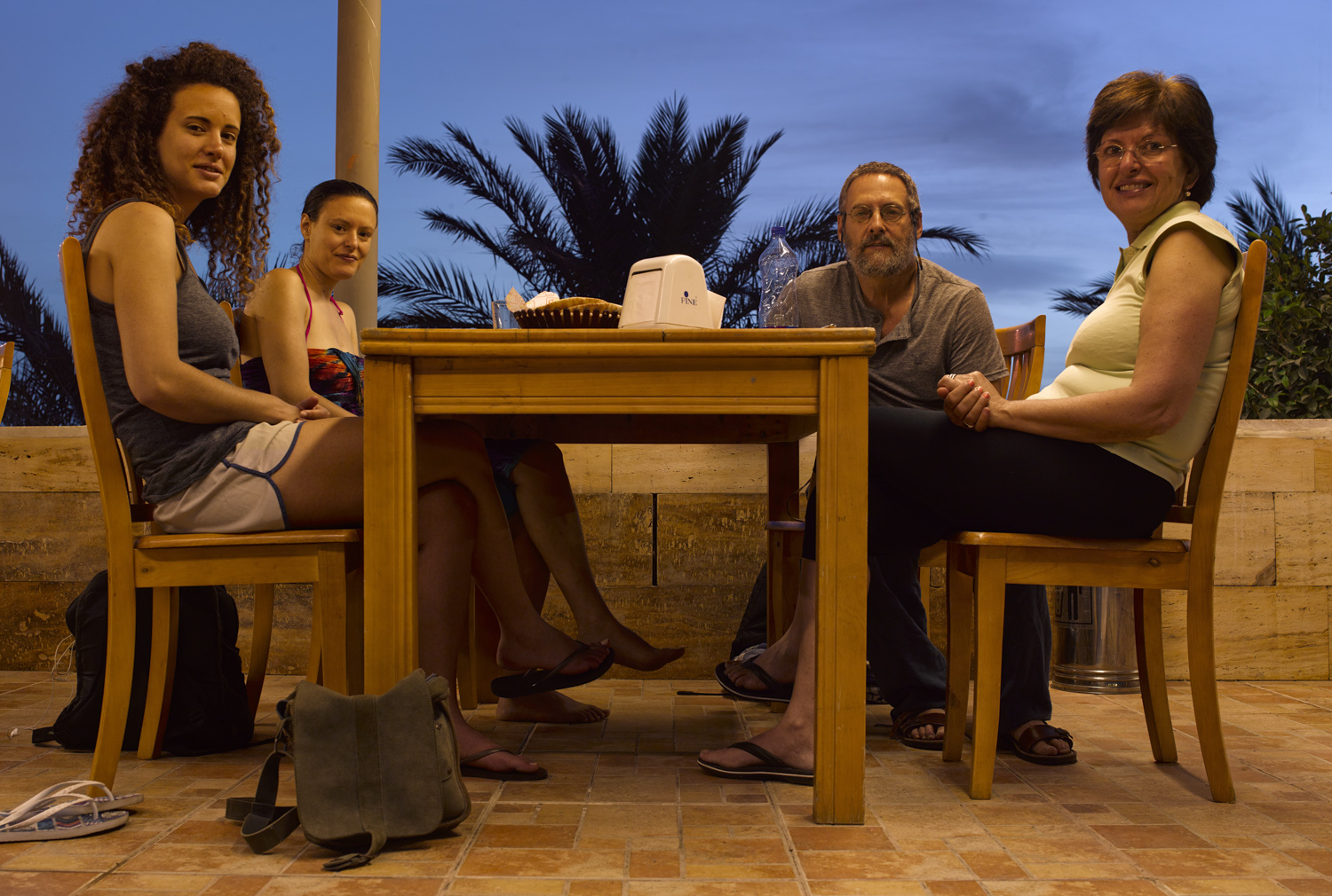 Supper - Darna Hotel, Aqaba, Pesach, 2014
