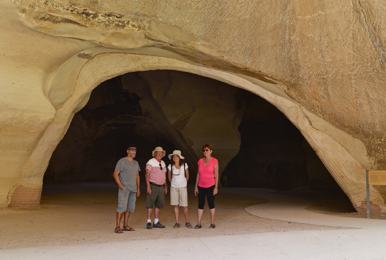 Group - Bell Cave, October, 2014