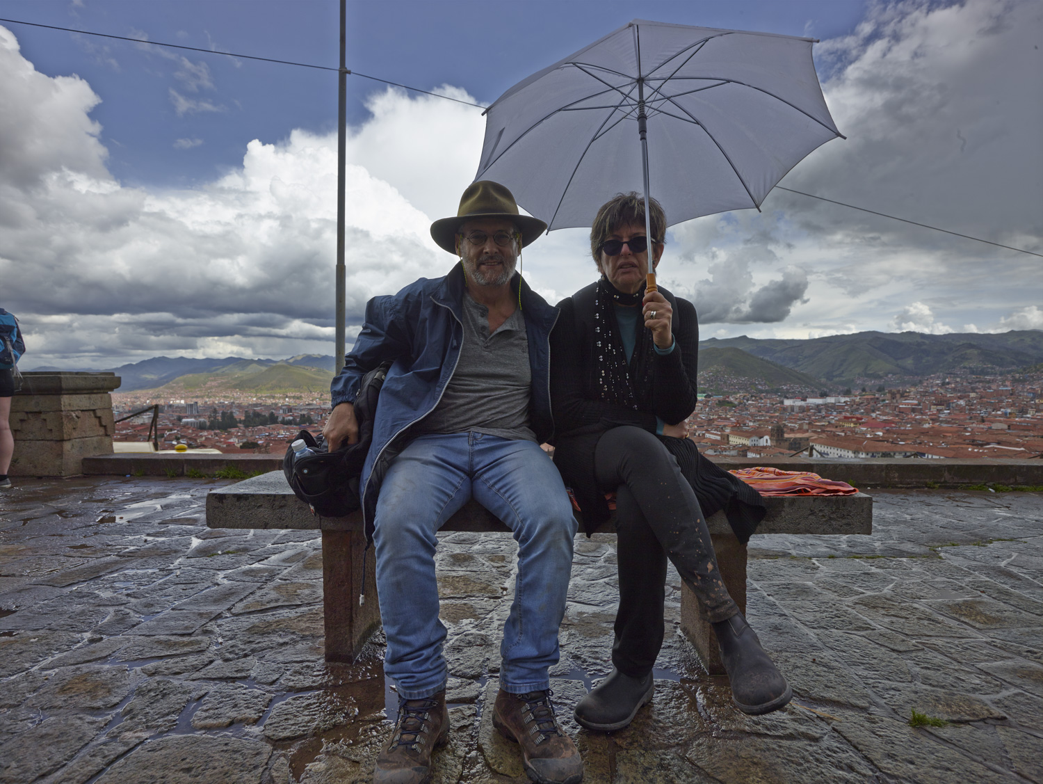 Leon and Fanny - Cusco, February 2016