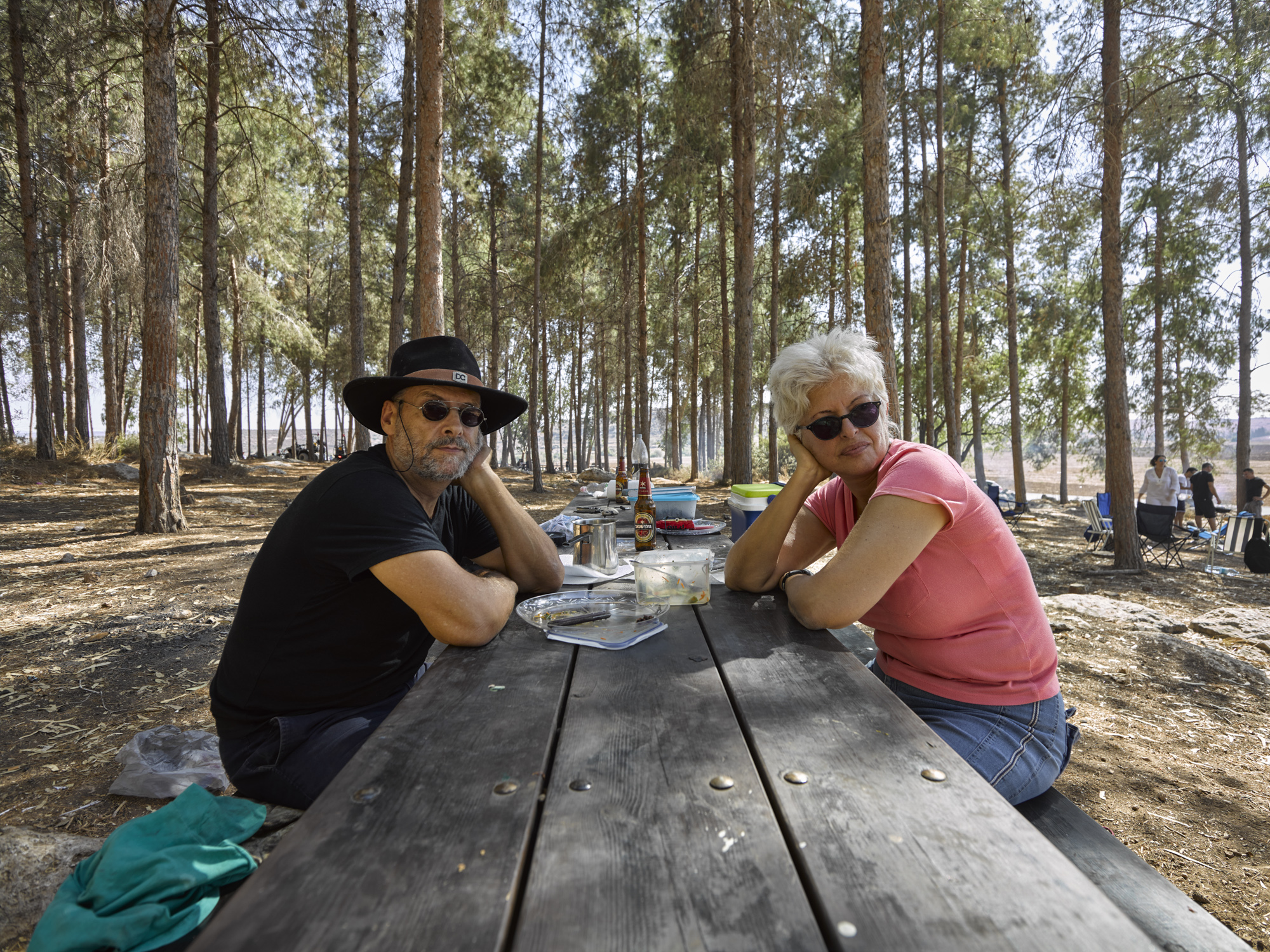 Fanny and Leon - Carob Forest, October 2016