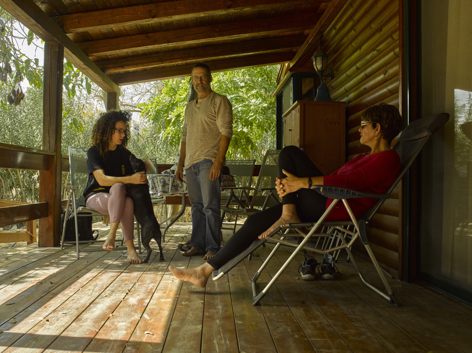 Porch - Sde Nitzan, March, 2015