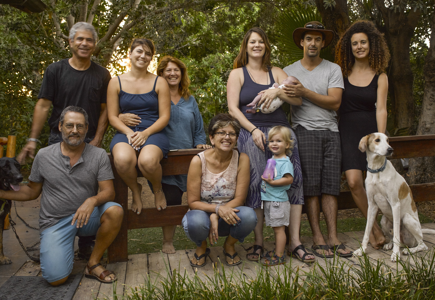 Group - Sde Nitzan, September 2015