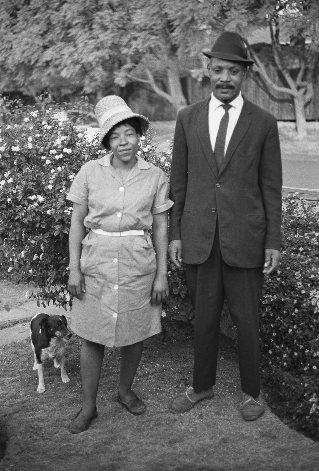 Dorcas and Sixy, Linksfield - 1970