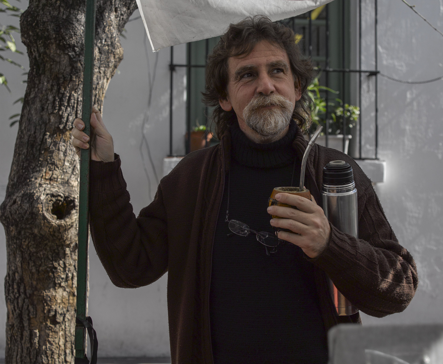 Mate drinker - Buenos Aires, 2008