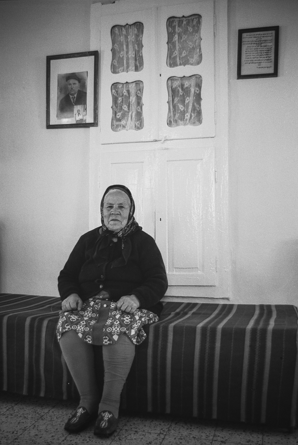 Widow - Machane Yehuda, Jerusalem, 1978