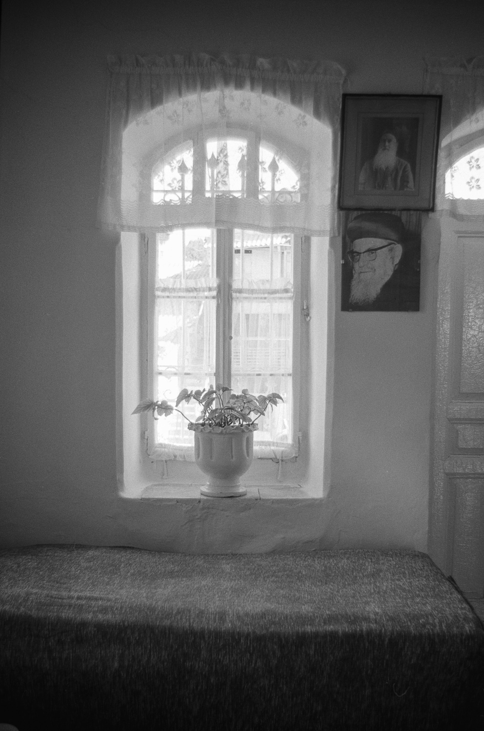 Window and bed - Jerusalem, 1978
