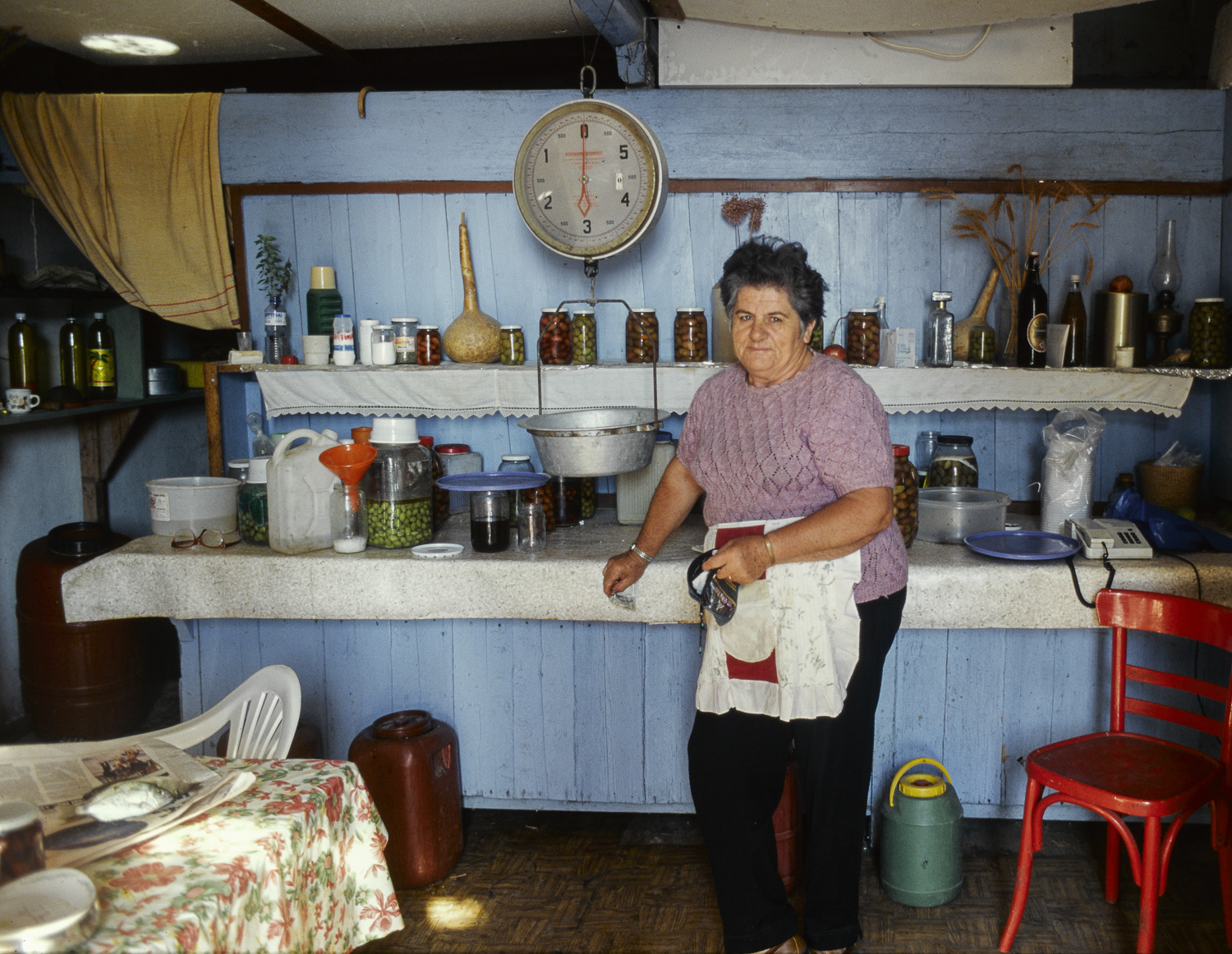 Kitchen - Astros, Greece, 1995