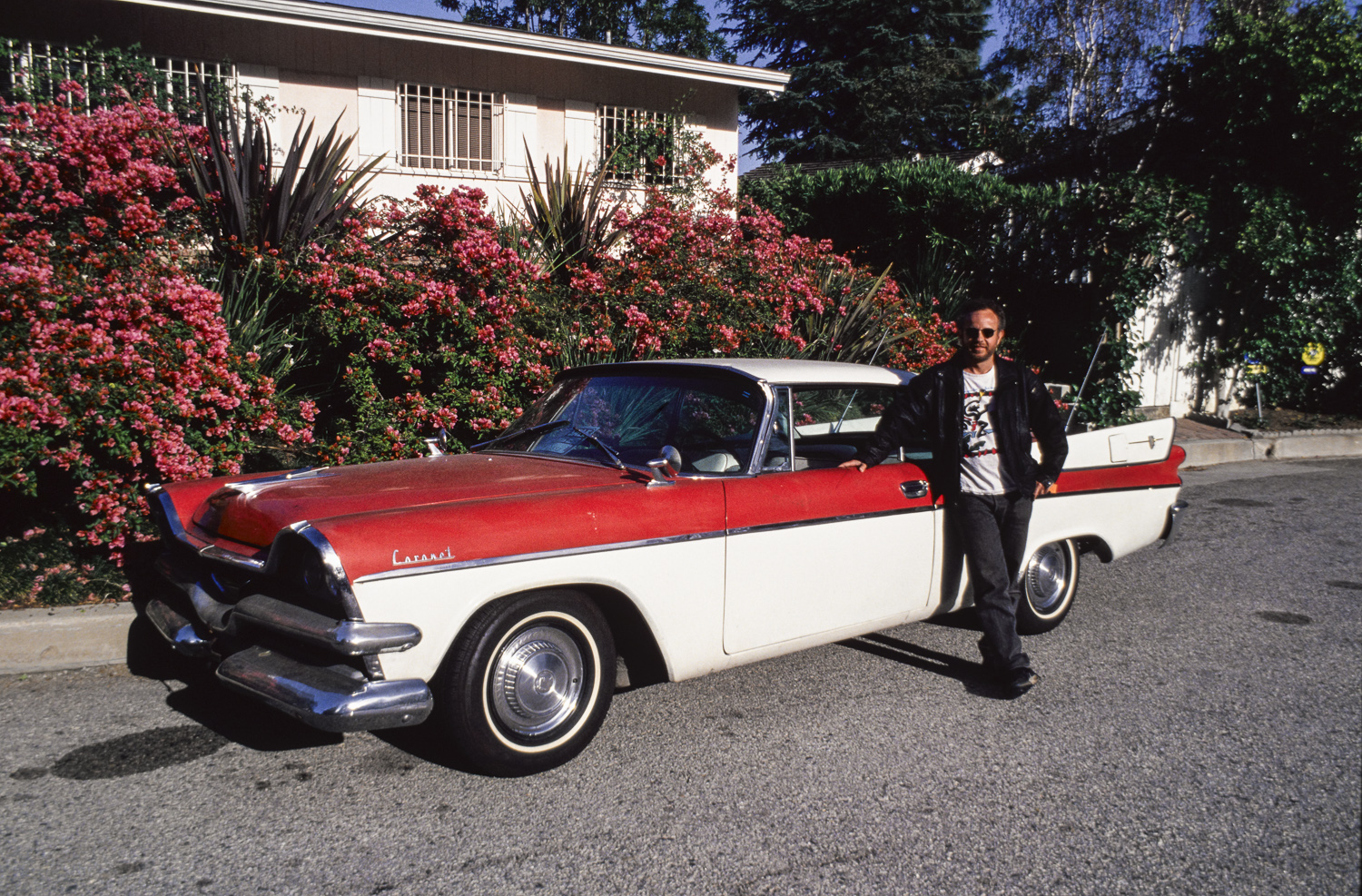Fudd and his car - Santa Monica, 1992