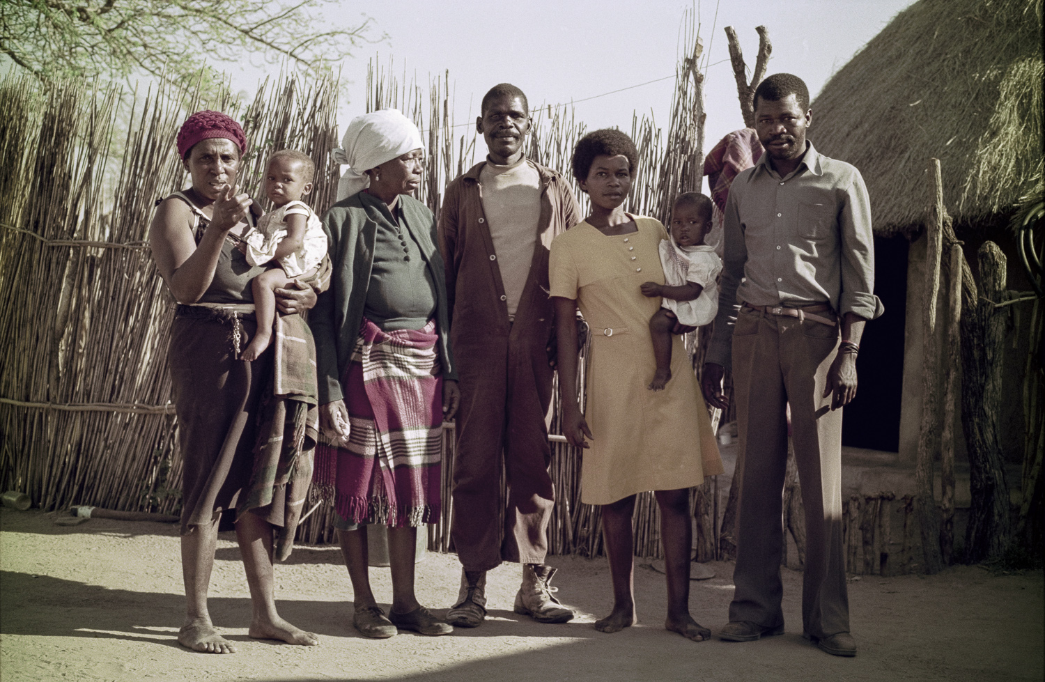 Family - Eastern Gauteng, 1976
