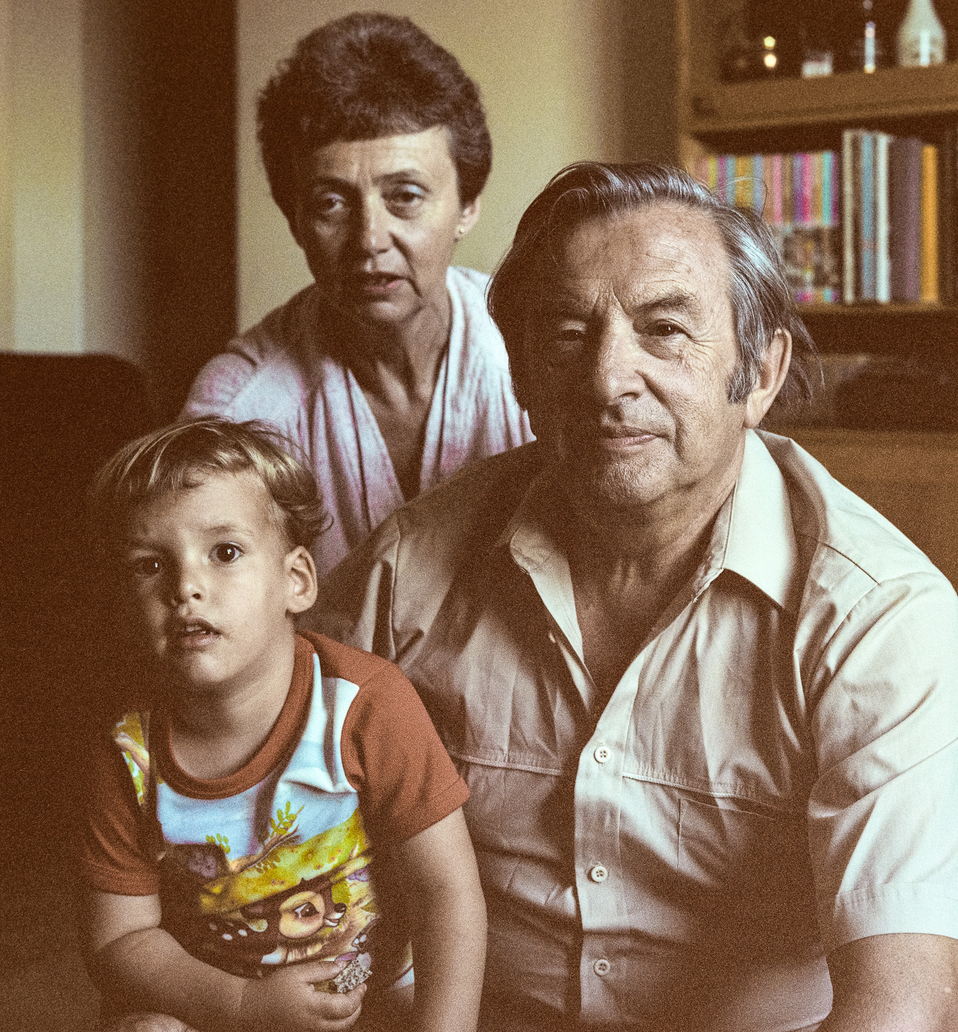 Yaniv, Lily and Chaim - Gilo, 1981