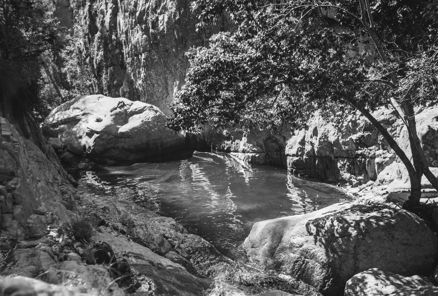 Pool - Magaliesberg, 1968