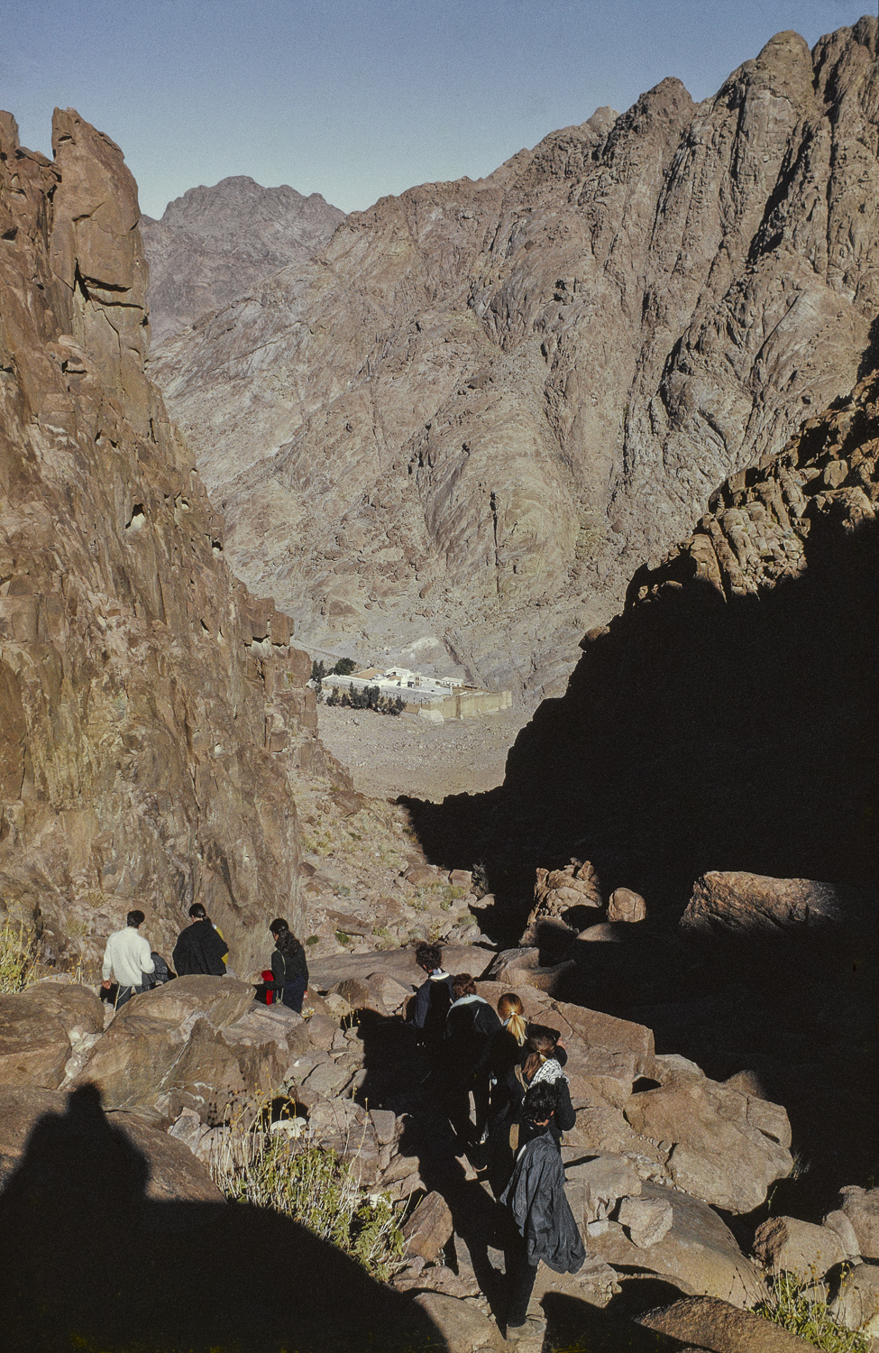 Descent -Mt. Sinai, Sinai, 1969